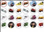 24 Thomas The Tank Engine Wafer Rice Paper Cake Toppers